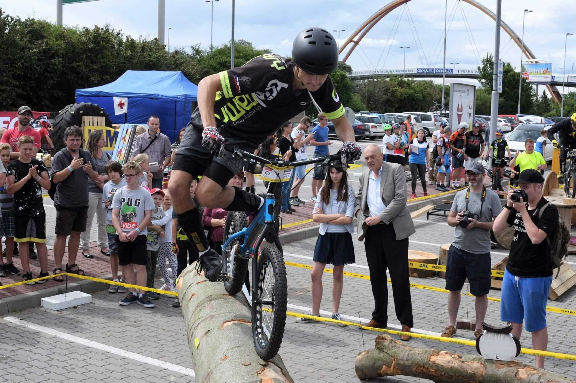 Èeského poháru v cyklotrialu v Praze - 2017